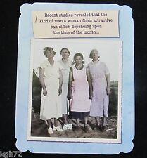 Leanin Tree Friendship Greeting Card Retro Women Multi Color Notelet Series N90