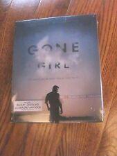 GONE GIRL (Blu-ray/Digital Copy+Amazing AMY Book,2015) New; Sealed + I Ship Fast