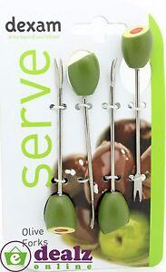 Dexam Olive Forks Set of 4