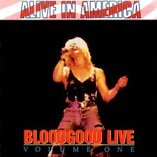 BLOODGOOD LIVE Vol. 1 Alive in America  CD 1990 Benson  *FAST SHIP*  *MINT LN*