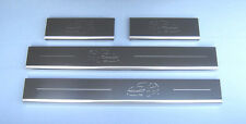 Ford Focus Mk1'98 -'05 4 portes (Focus Image Logo) Sill Protections/coup De Pied Plaques
