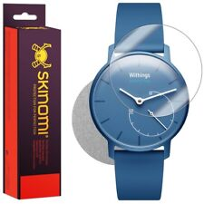Skinomi Brushed Aluminum Skin & Screen Protector for Withings Activit� Pop