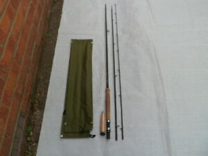 "Sue. Burgess Diamondback 10' 6"" graphite trout fly rod, line # 7/10"
