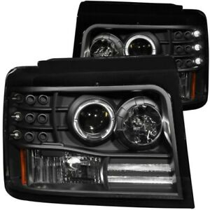 Anzo 111184 Ford F-Series and Bronco 1992-1996 Projector Headlights