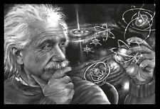 (FRAMED) EINSTEIN QUAZAR POSTER PRINT PICTURE - READY TO HANG ART NEW