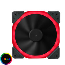 Halo Double Ring 18 DEL 120 mm 12 cm RGB Case PC Ventilateur, 18 x RGB DEL, 22.0dB, 32 CFM