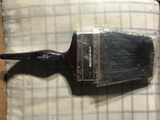 "Two 4"" Pure Bristle Paint Brushes"