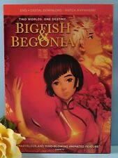 Big Fish & Begonia Dvd plus Digital Download New