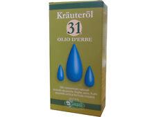 Olio 31 Originale Erbe Naturale 100ml Krauterol Sangalli Ideale Massaggi /Dolori