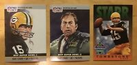 Bart Starr (3) Football Cards