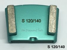 HTC Trapezoid Double Bar 2 Segment Diamond Grinding Polishing Soft Bond 150 Grit