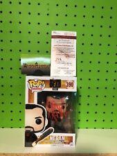 Funko Pop Vinyl The Walking Dead Negan Jeffrey Dean Morgan Autograph JSA Witness