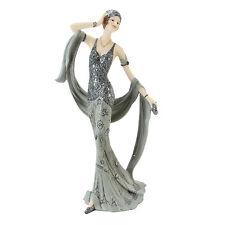 Juliana Art Deco Broadway Belles Silver /Grey Lady Figurine / Ornament.New.60749