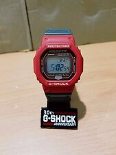 Vintage G-Shock The G GW-5600RJ Rasta Bob Marley WaveCeptor Solar Atomic Limited