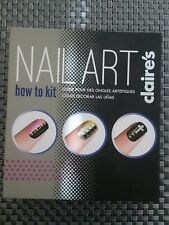 NAIL ART KIT BY CLAIRE'S NEW