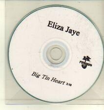 (CW413) Eliza Jaye, Big Tin Heart - DJ CD