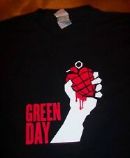 GREEN DAY AMERICAN IDIOT 2004 TOUR Heart Grenade T-Shirt LARGE NEW
