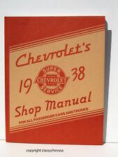 1938  Chevrolet  Passenger Car and Truck Shop Manual