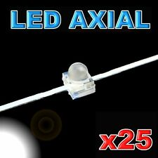 373/25#LED axial 1,8mm blanche  25pcs
