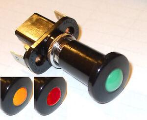 Push-pull switch, Auto Marine illuminated Durite 0-597-xx     PUP021x (ONE)