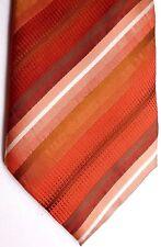 """Kenneth Cole Men's Silk Tie 59"""" X 4"""" Multi-Color British Stripes"""