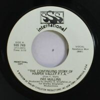 Country Promo Nm! 45 Dee Mullins - The Continuing Story Of Harper Valley P.T.A.