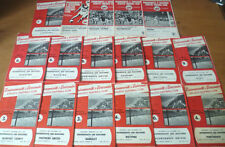 Teams A-B Bournemouth Third Division Football Programmes