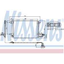Kondensator Klimaanlage - Nissens 94684