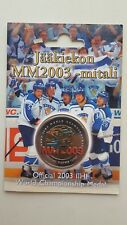 Official 2003 IIHF World Championship Medal - Team Finland - UNC