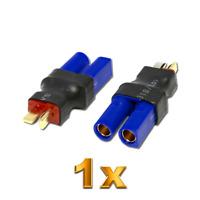 Adapter EC5 Buchse auf T-Plug T-Dean T-Stecker Male Lipo Akku Ladekabel RC 5mm