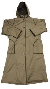 Vtg Bonnie Cashin Weatherwear for Russel Taylor Long Winter Coat Light Brown 14