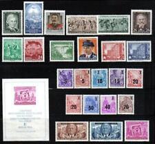 DDR 1954 Jahrgang komplett sauber gestempelt, soweit erschienen mit Blocks + Kbg