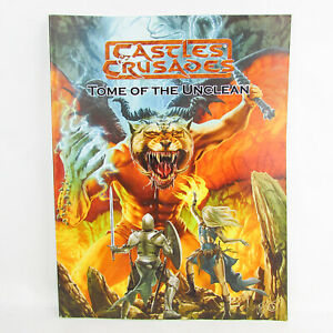 Castles & Crusades Tome of the unclean Codex Troll Lord Games Supplement