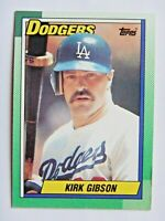 Kirk Gibson 1990 Topps #150 Baseball Card (Los Angeles Dodgers) LN