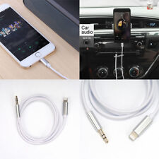 Audio AUX Lead Car Cable Lightning to 3.5mm Jack Connector for Iphonexsmax Ios12