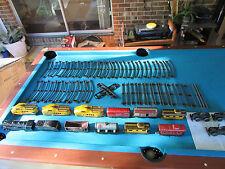 TRAIN SETs MARX LINES1920-30s ANTIQUE WINDUP METAL12CARS30'TRACK3MOTORS VINTAGE!