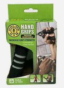 Golds Gym Hand Grips, Pair, Medium Resistance, 0011