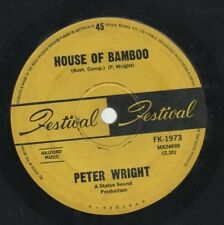"PETER WRIGHT   Rare 1967 Oz Only 7"" OOP Psych Freakbeat Single ""House Of Bamboo"""