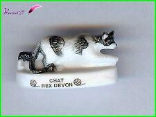 """Feve Les Races de Chat Cat Edition Atlas """" Le Rex Devon """"  #A14"""