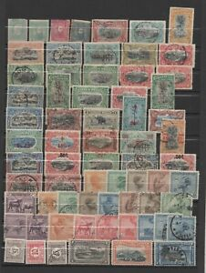 CONGO BELGE BELGIAN CONGO COLLECTION 204 STAMPS/TIMBRES 1886 1960 USED/MINT