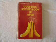 ATARI BOOK Compute's SECOND book of Atari - 1982 - *GREAT CONDITION*