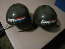 2 - GI Joe Vintage Child Size Wearable Play Army Helmet 1982 Hasbro RARE! Cobra