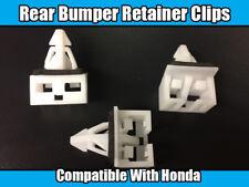 4x Clips For Honda Civic Rear Bumper Retainer Fastener White Plastic 71592S6A000