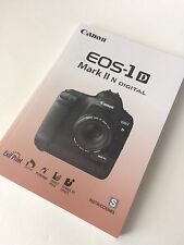 Canon EOS 1D Mark II N Digital Camera - Original Instruction Manual SPANISH