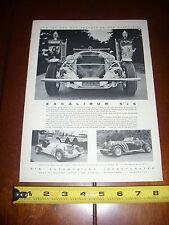 1965 EXCALIBUR SS NEO CLASSIC - ORIGINAL AD