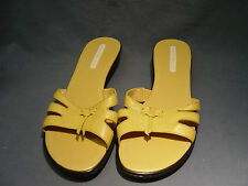 "WOMEN'S  ""BANDOLINO"" BUTTER TAN SANDALS, SLIP ON SHOES, LOW HEELS SIZE 10M"