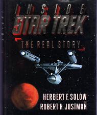 Solow & Justman INSIDE STAR TREK THE REAL STORY hcdj 1996 1st ed 1st prt NR MINT