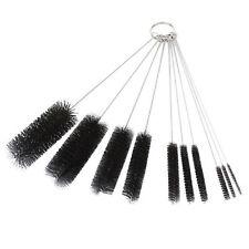 New Home 10PC Nylon Stainless Steel Wire Pipe Tube Brush Bottle Spring Brush