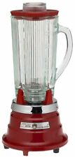 Waring PBB204 Professional Commercial Beverage Bar Blender Chili Red Glass top