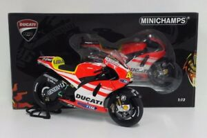 Modelo Moto Diecast Escala 1:12 MINICHAMPS valentino rossi Ducati 2011 Estático